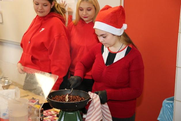 Weihnachtsmarkt der VAB-Klasse